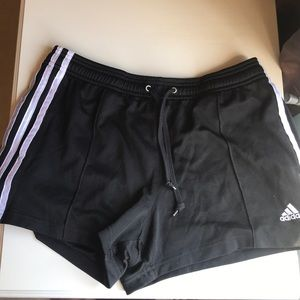 Adidas black gym short